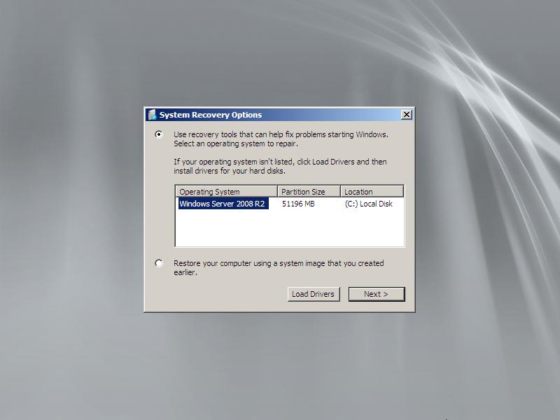 change local admin password server 2008 r2