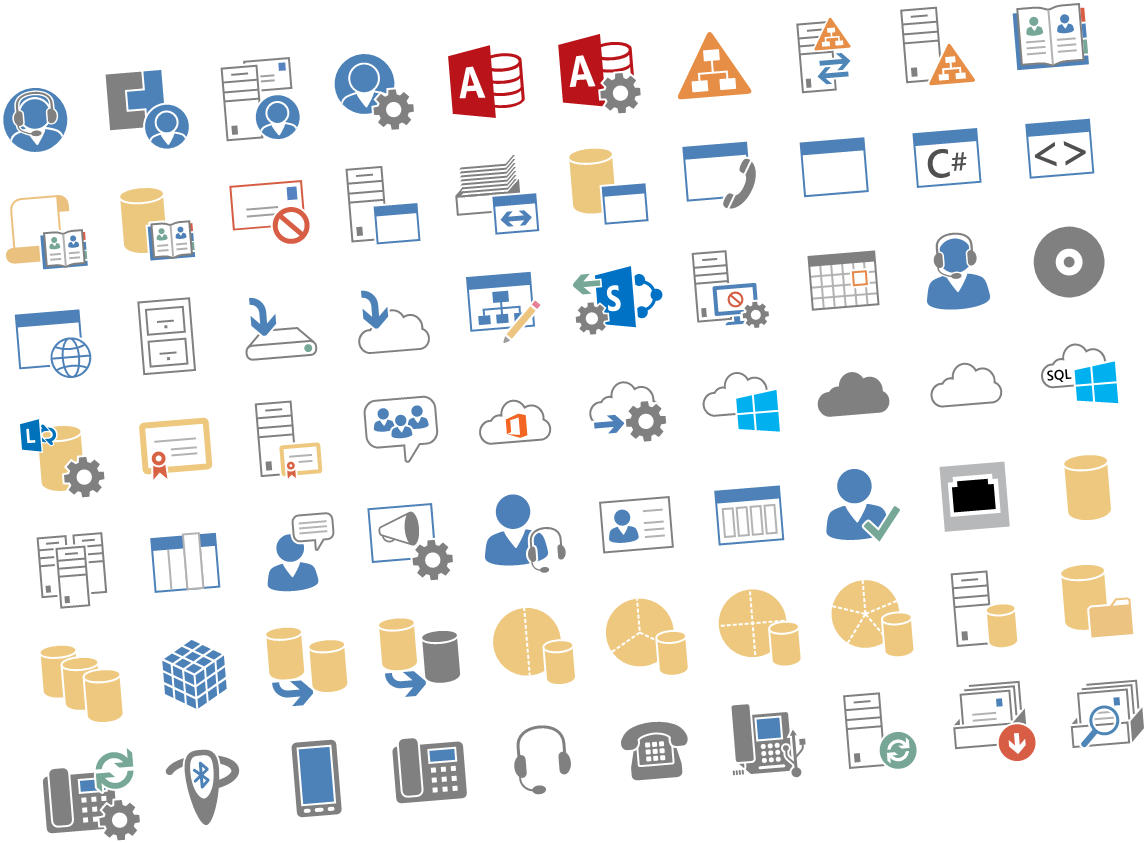 Microsoft Released New Visio Stencils For Office Server And Office