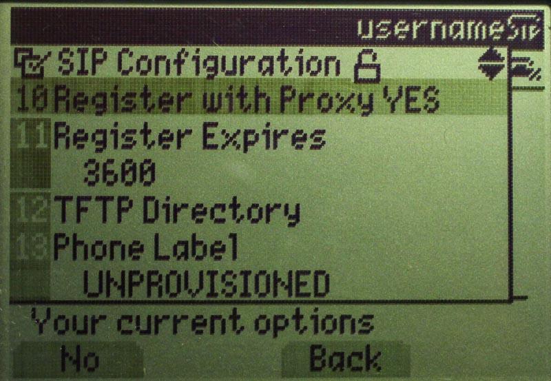 Configuring Cisco 7960 for SIP Service | Kieran Lane