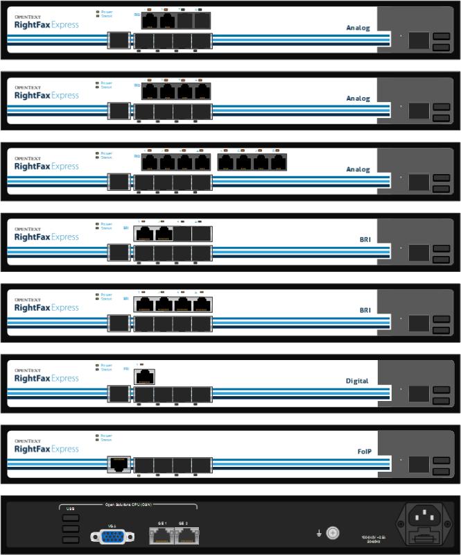 RightFax Express and OpenText Fax Gateways Visio Stencils | Kieran Lane